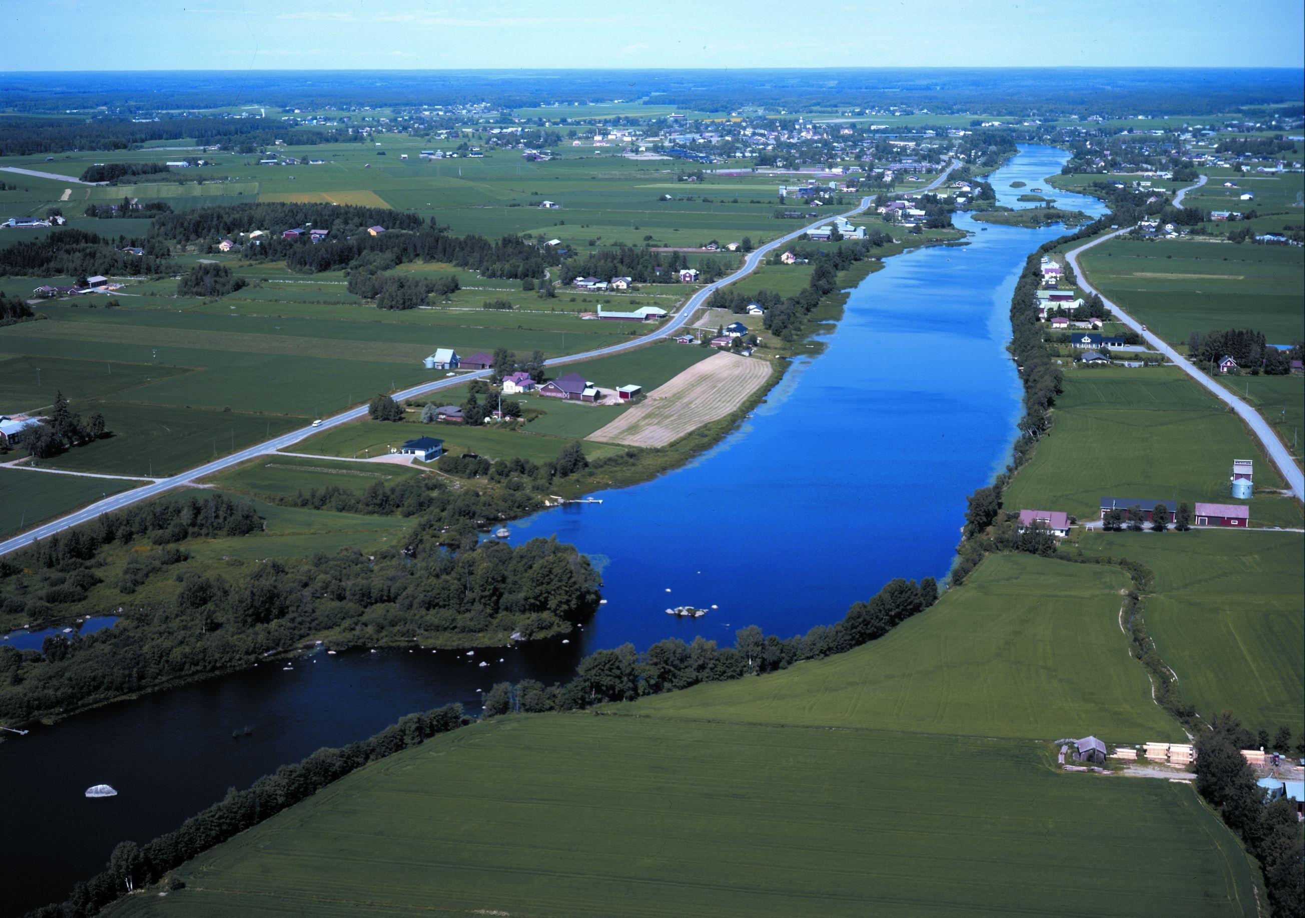 Город на реке — Сейняйоки