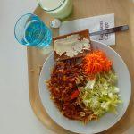 Стандартный обед в колледже