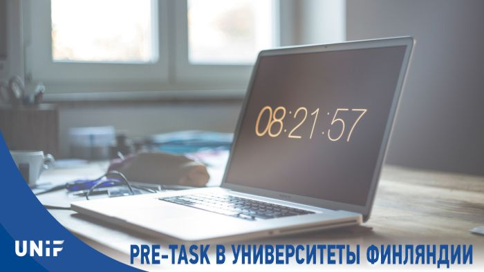 Pre-task для университетов Финляндии (Бизнес 2021)