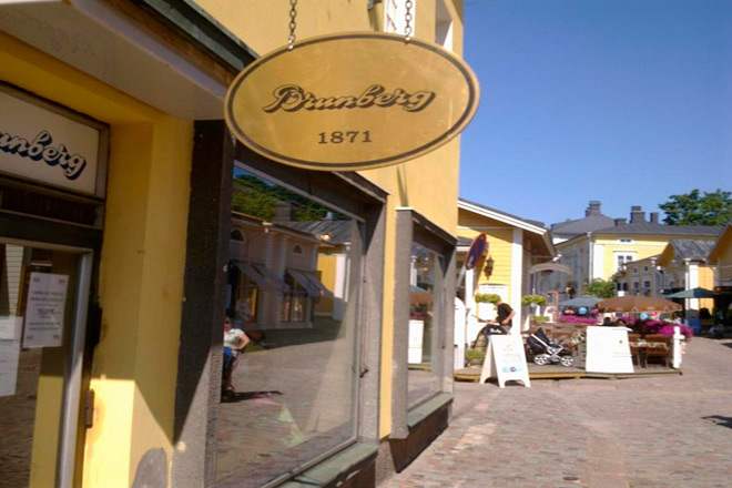 Кондитерский магазин в Порвоо