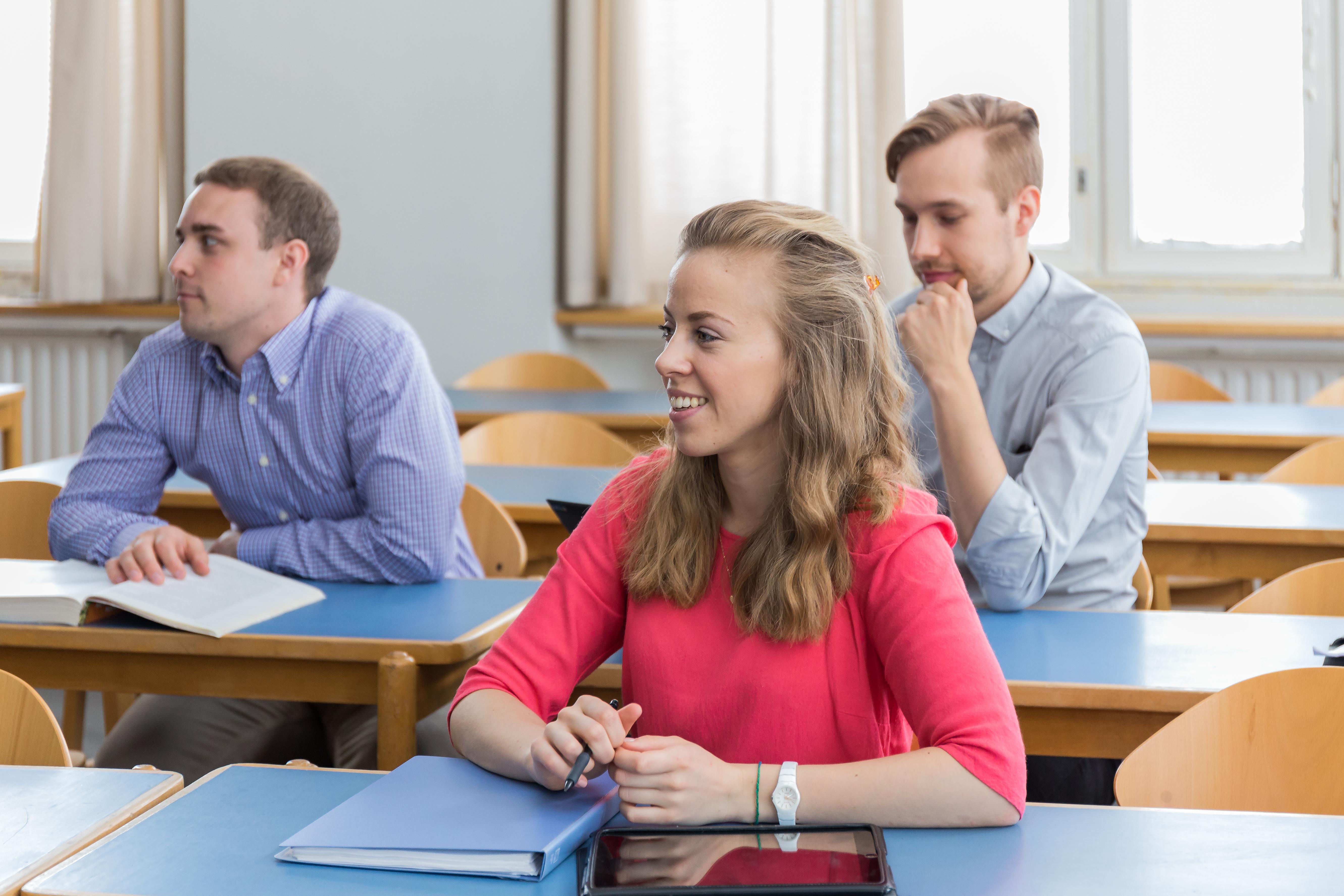 Студенты в Hanken School of Economics