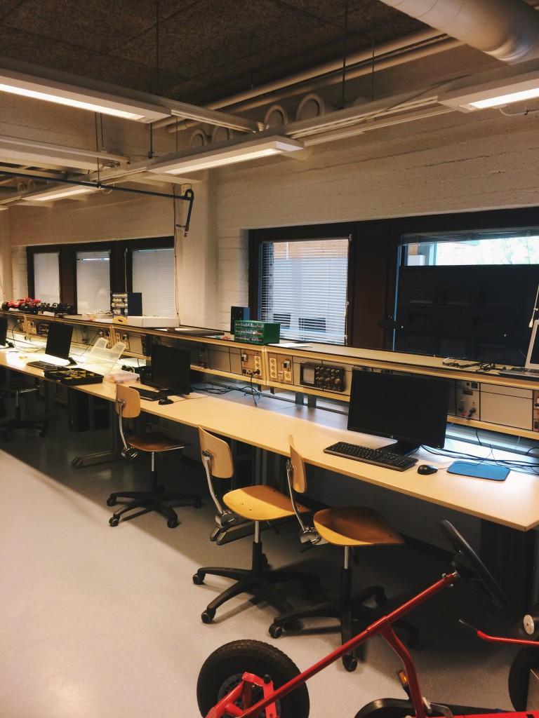 Компьютерный класс Университета Каяани