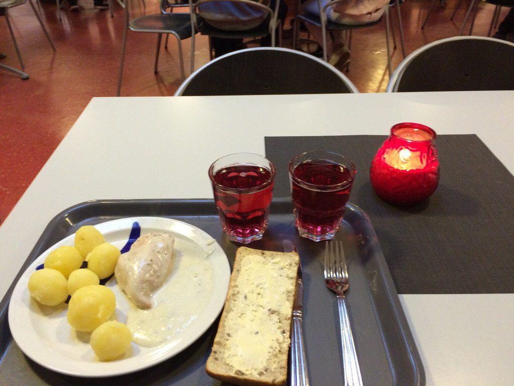 студенческая столовая в финляндии