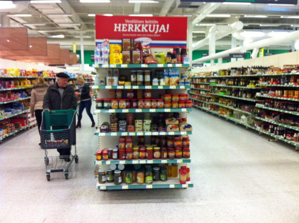 русские продукты в финляндии
