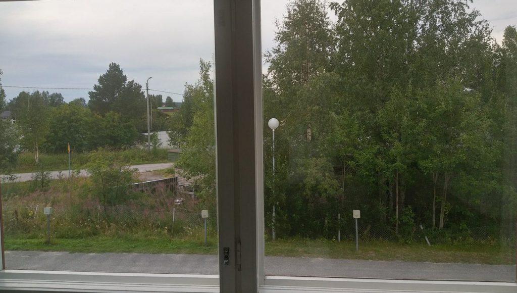 Вид из окна комнаты Егора