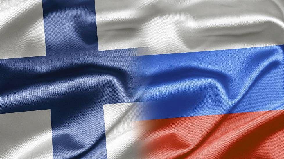 Финский и русский флагт