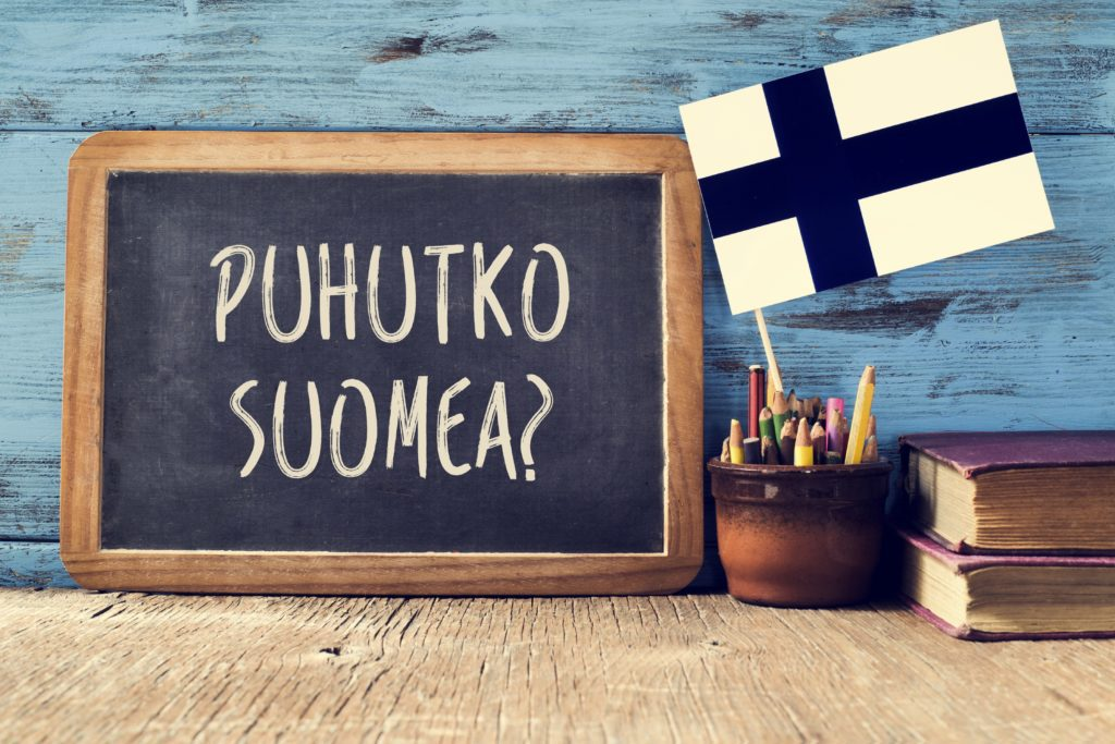 puhutko suomea?