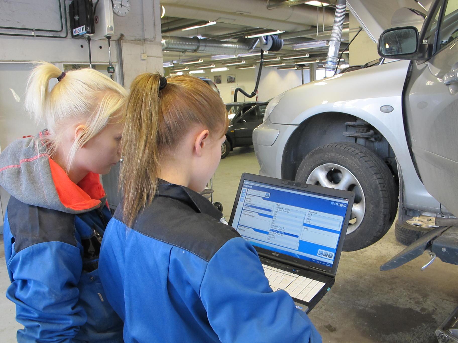 специальность автомеханик в Финляндии
